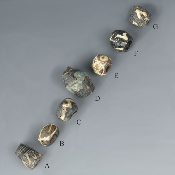 A Selection of Roman Glass Beads