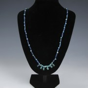 Egyptian Amarna Necklace with Flower Beads