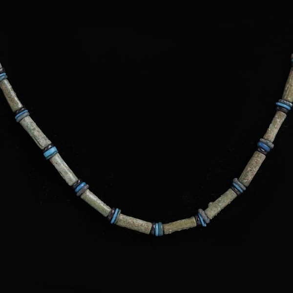 Necklace of Ancient Egyptian Amarna Beads