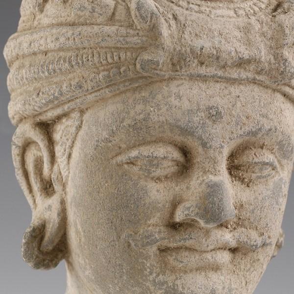 Gandhara Buddha Head of Buddha Maitreya