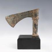 Luristan Bronze Shaft-Hole Axe with Ridged Decoration