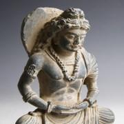 Gandhara Statuette of Buddha Maitreya