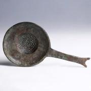 Etruscan Bronze Wine Strainer