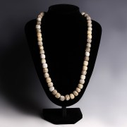 Mammoth Bone Bead Necklace