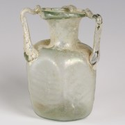 Byzantine Three-Handled Glass Jug