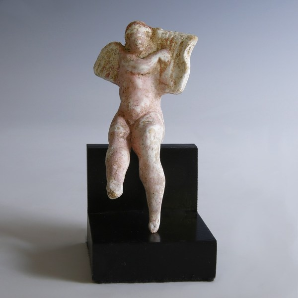 Hellenistic Erote Statuette with Lyre