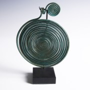 Large Bronze Age Spiral Pendant