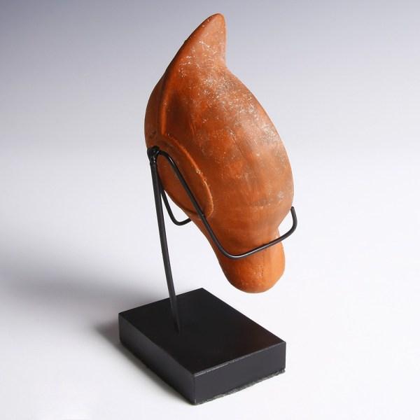 Roman Lamp with Chi Rho