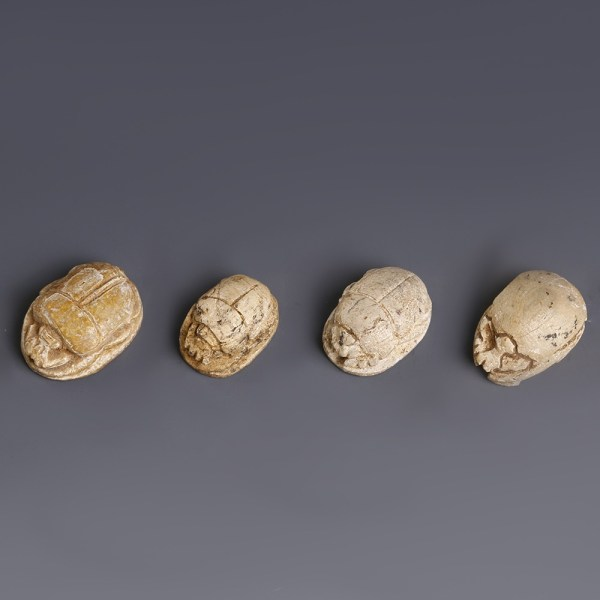 Selection of Steatite Scarabs