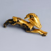 Egyptian Gold Ibex Amulet