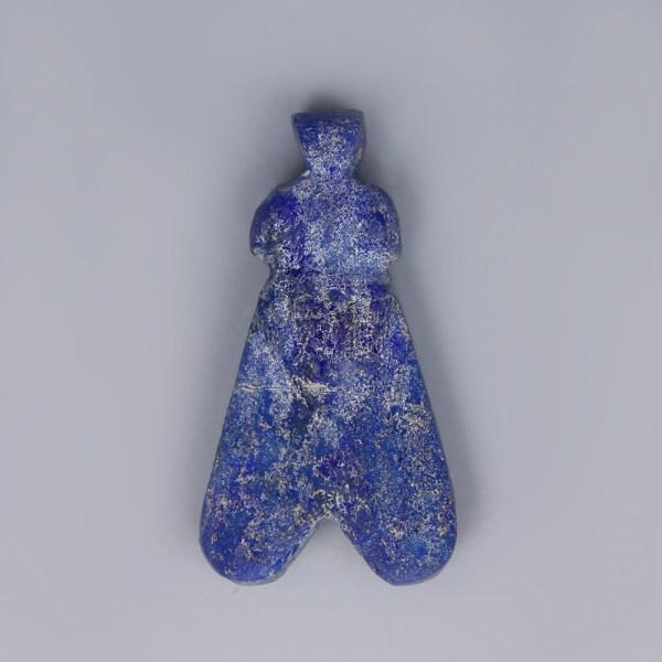 Ancient Egyptian Lapis Lazuli Fly Amulet