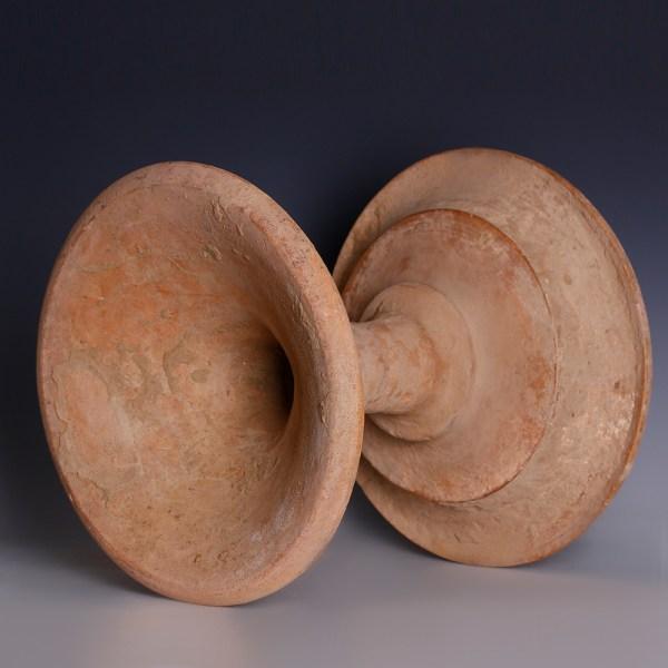 Indus Valley Bichrome Terracotta Offering Stand