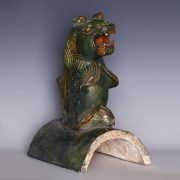 Sancai Glazed Ming Dynasty Roof Tile