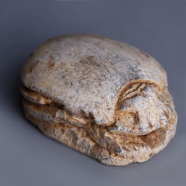 Egyptian Scarab dedicated to Atum