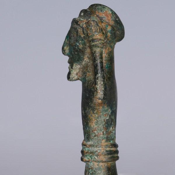Ancient Luristan Worshipper Figurine