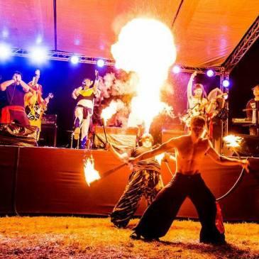 外埔丘地上的狂響-台中無限自由音樂節