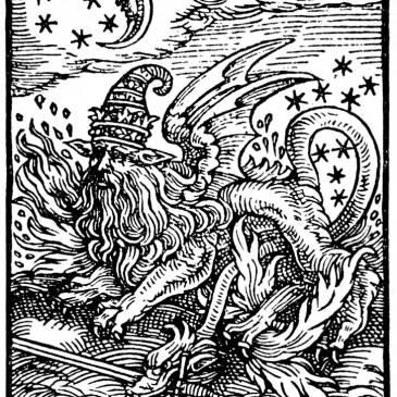 傳說中的神獸:沙羅曼達