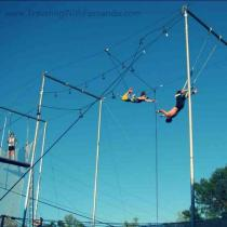 Fernando Panduro (@PanduroFernando) of the USA likes to treat himself to something pretty awesome: trapeze lessons! pic.twitter.com/ByXlTcGXdq
