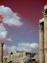 Lily (@Lilyriani) of Malaysia edited with some neat lighting effects her capture of Greece's famed Acropolis: http://twitpic.com/do5v12