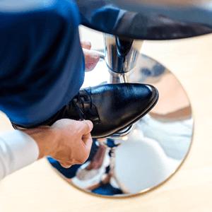 Verkooptruc: De voet-in-de-deur techniek