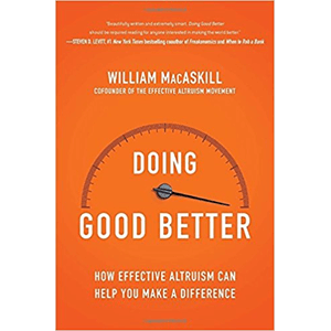 Boek: doing good better - William MacAskill