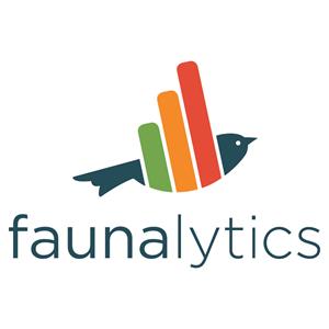 Logo Faunalytics (doet onderzoek voor dierenwelzijn)