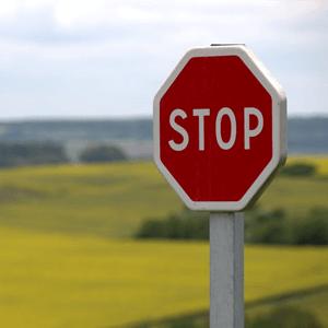 stop agressieve colportage