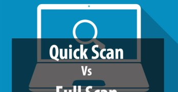 quick scan vs full scan