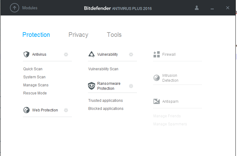 Bitdefender antivirus plus protection