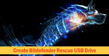 Create Bootable Bitdefender Rescue USB Drive