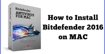 How to Install Bitdefender 2016 on MAC