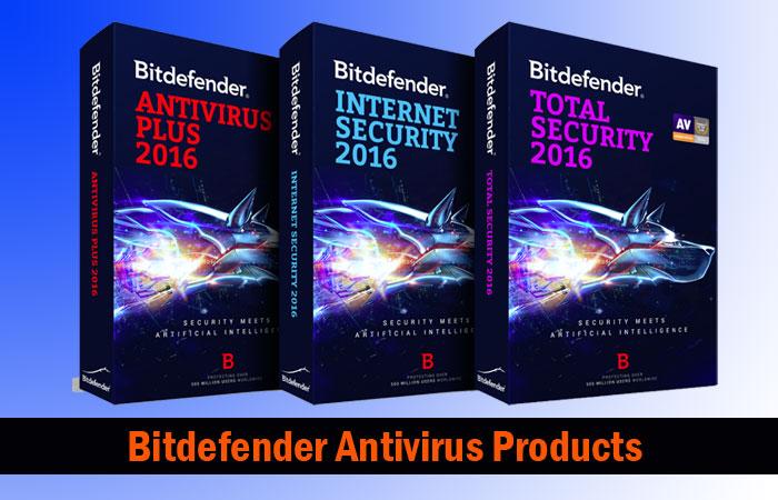 Bitdefender Antivirus Products