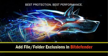 How to Add File/Folder Exclusions in Bitdefender 2016