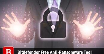 Bitdefender Free Anti-Ransomware Tool Review