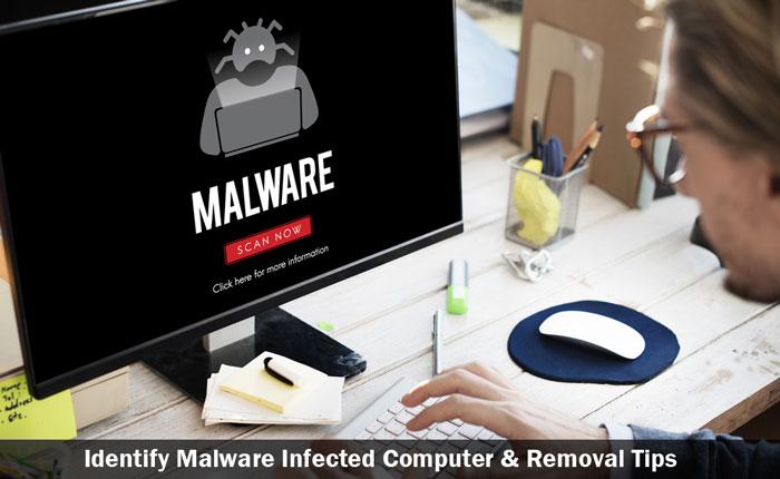 identify malware and remove it