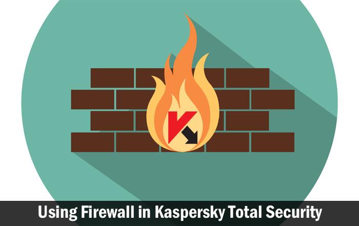 Using Firewall in Kaspersky