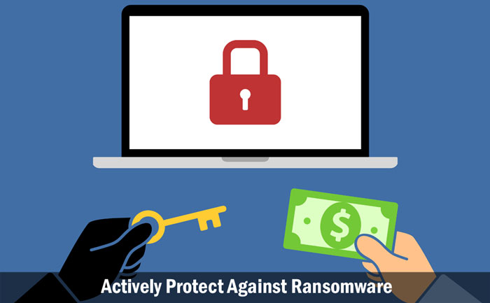 Actively Protect Against Ransomware