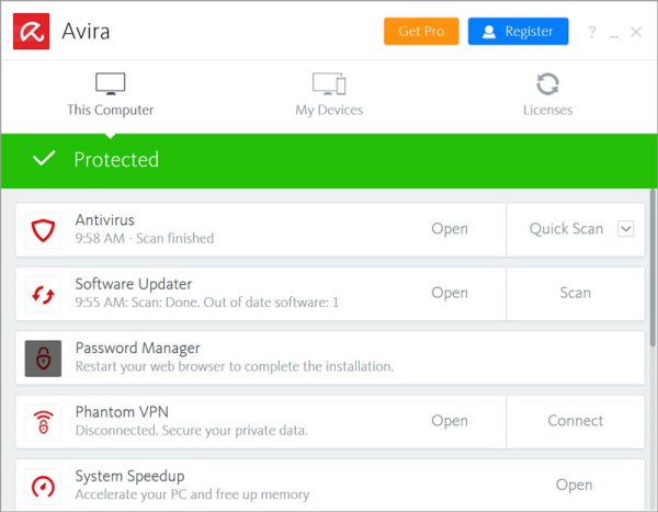 Avira_Antivirus_interface