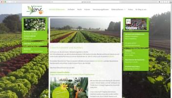 Gärtnerei und Hofladen Lenz | Webseitengestaltung