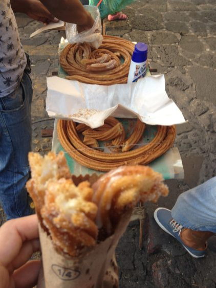 Churros (Mexican cruller) !
