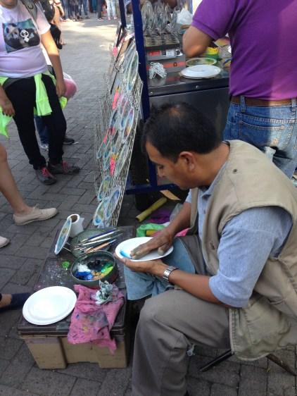 Flea & Street Market in Bosque de Chapultepec, Mexico City