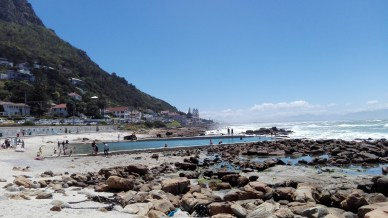 St James Tidal pools - safe from sharks and waves!