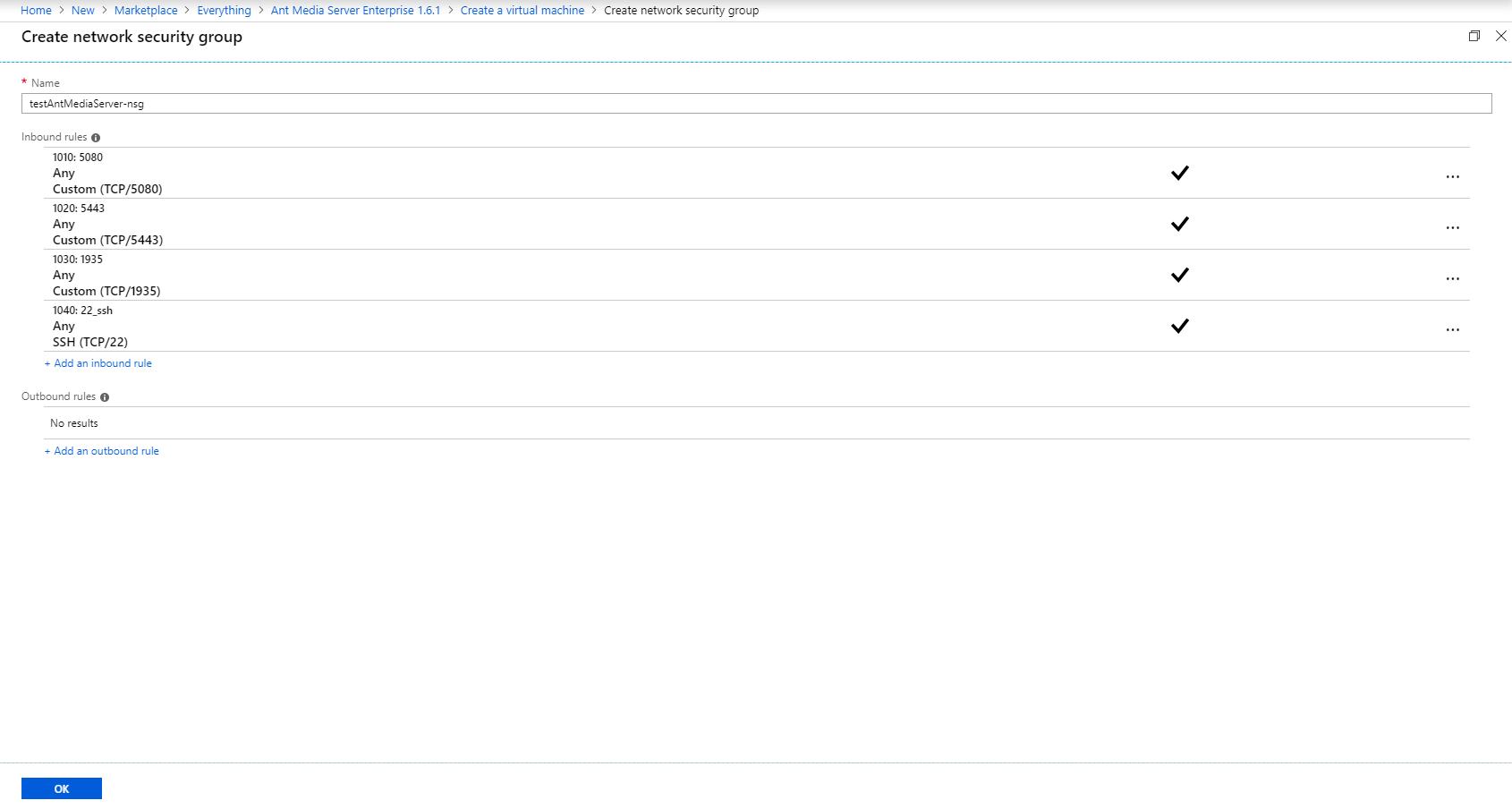 How to Use Ant Media Server on Azure Marketplace ? - Ant Media