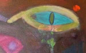 Rinnande öga