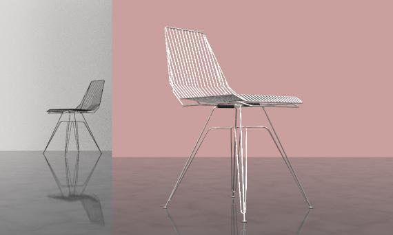 Wire Chair design