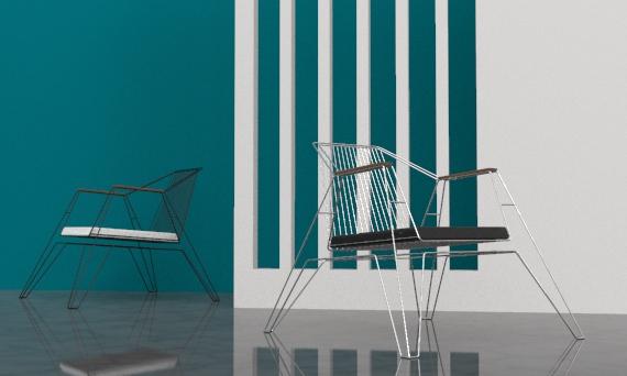 Wire-x Chair Design