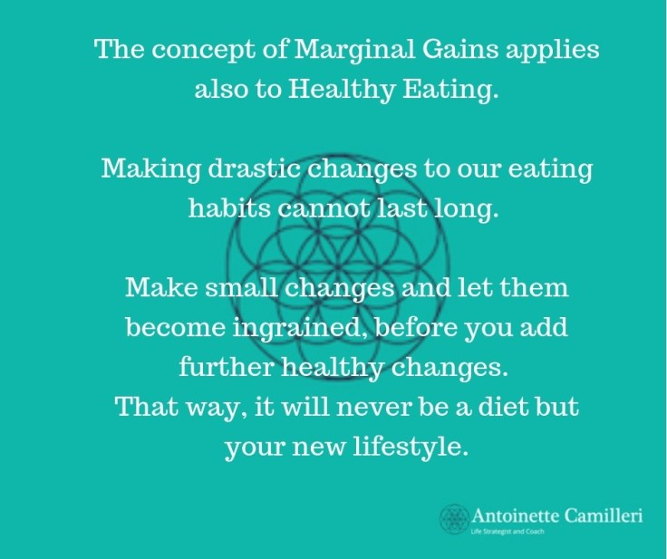 Diet - Change your eating habits one step at a time