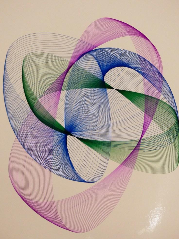 Decorative art - energy vibration - improve your mood