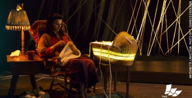 as Natalia in Stefanie Zadravec's THE ELECTRIC BABY at Two River Theater Co., directed by May Adrales