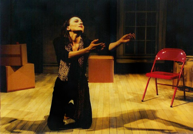 in her original one-woman play, HOW TO BE A GOOD ITALIAN DAUGHTER (IN SPITE OF MYSELF) at Urban Stages